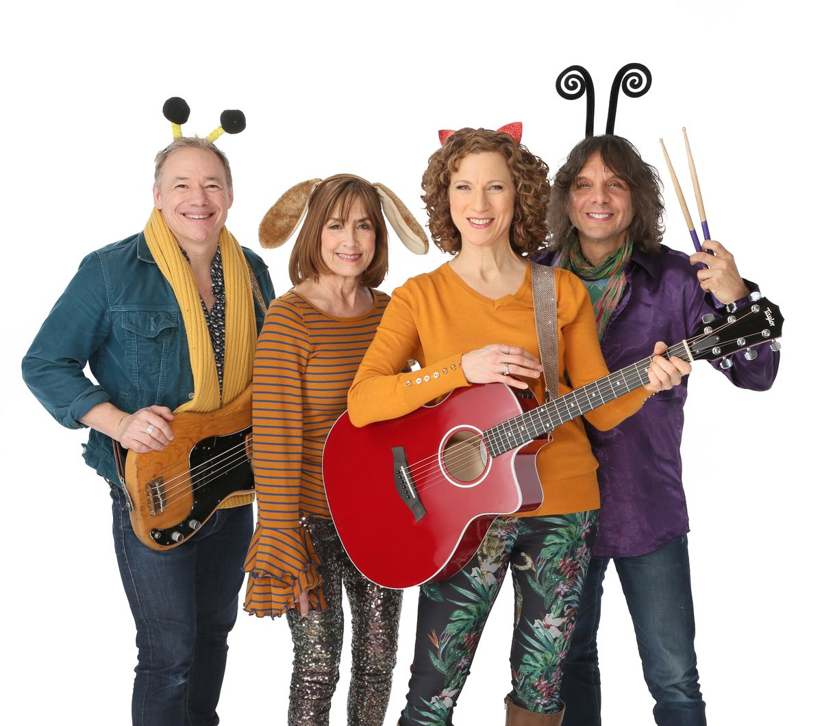 The Laurie Berkner Band.