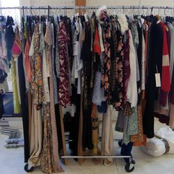 This rack of samples (maybe even a few from fall '14?) will be in the house.