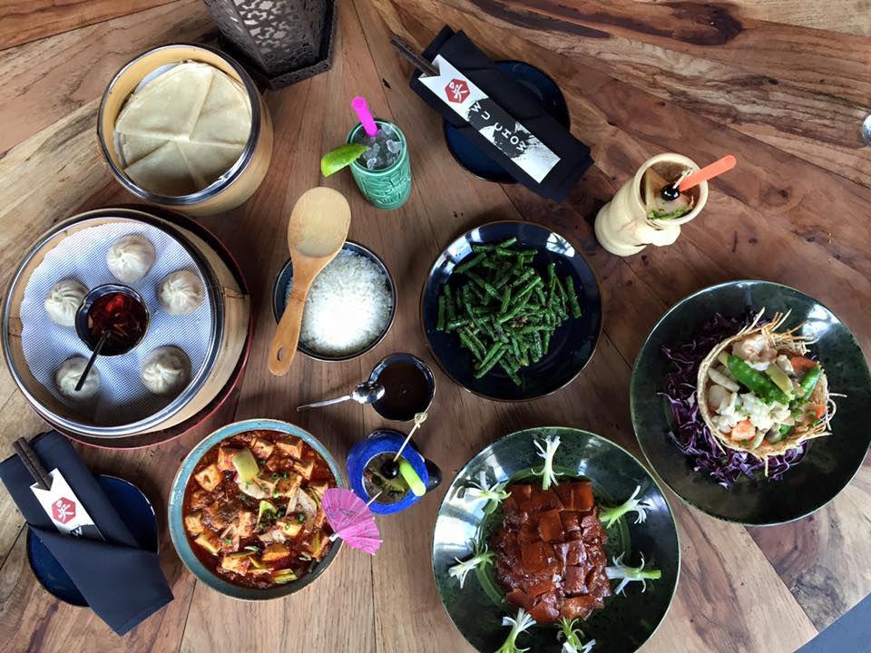 Wu Chow's spread