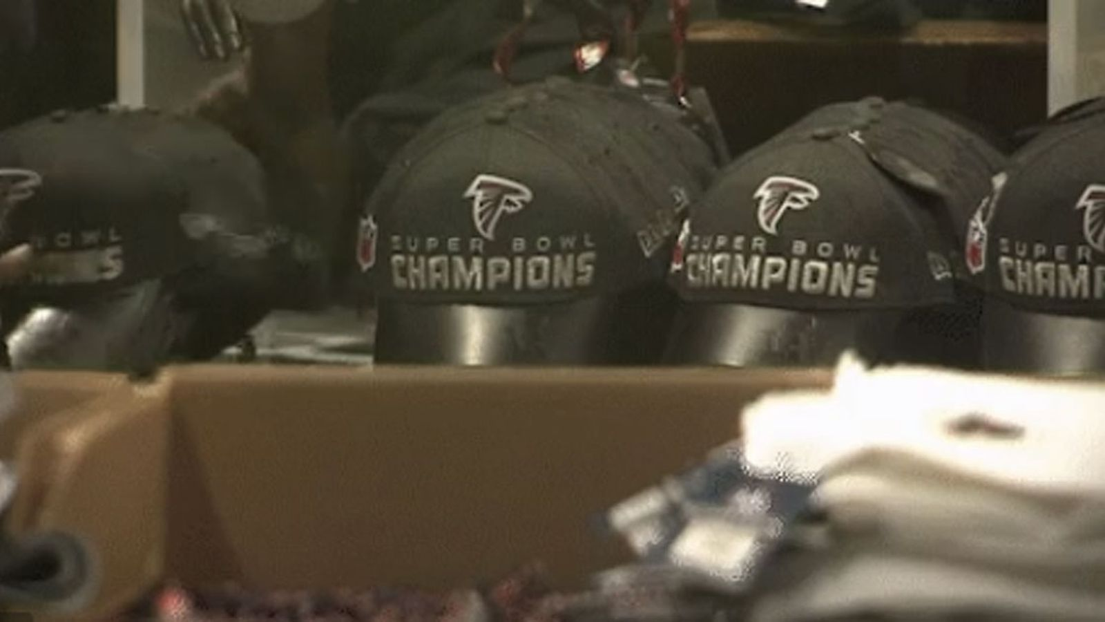 Falcons store removing 'Super Bowl champions' gear from shelves is ...
