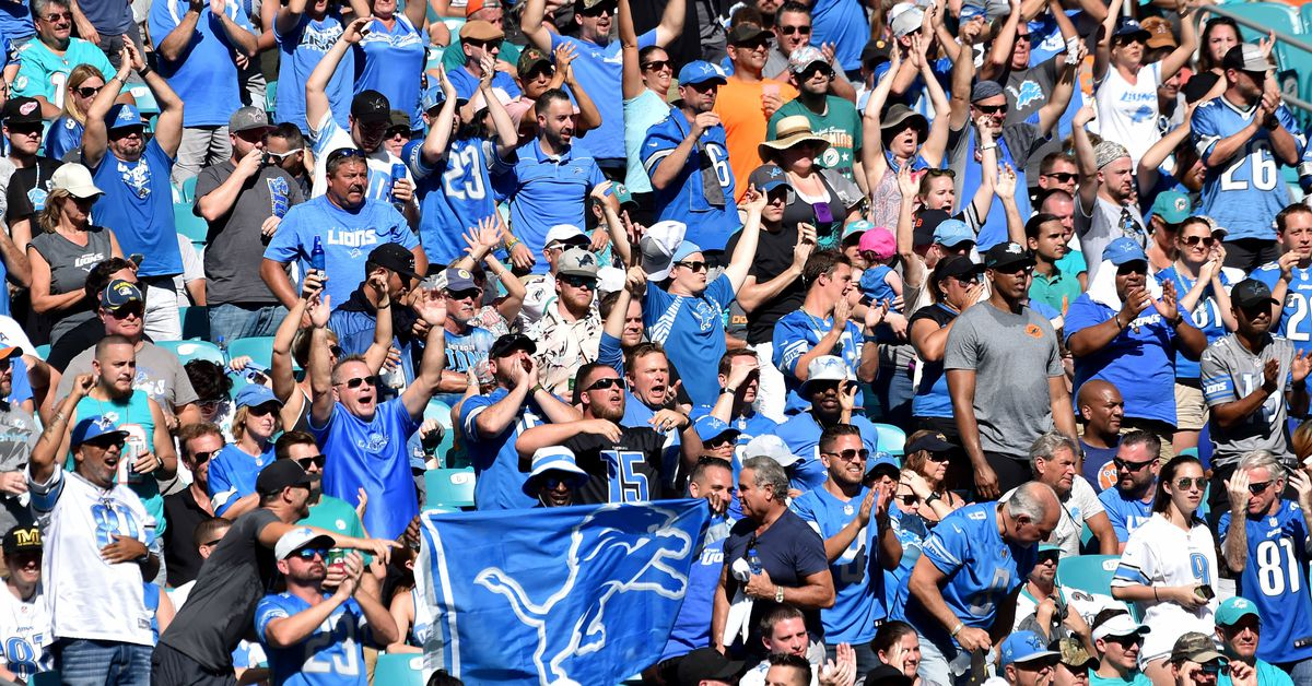 Notes: Lions have the 22nd-best fans in NFL, per study