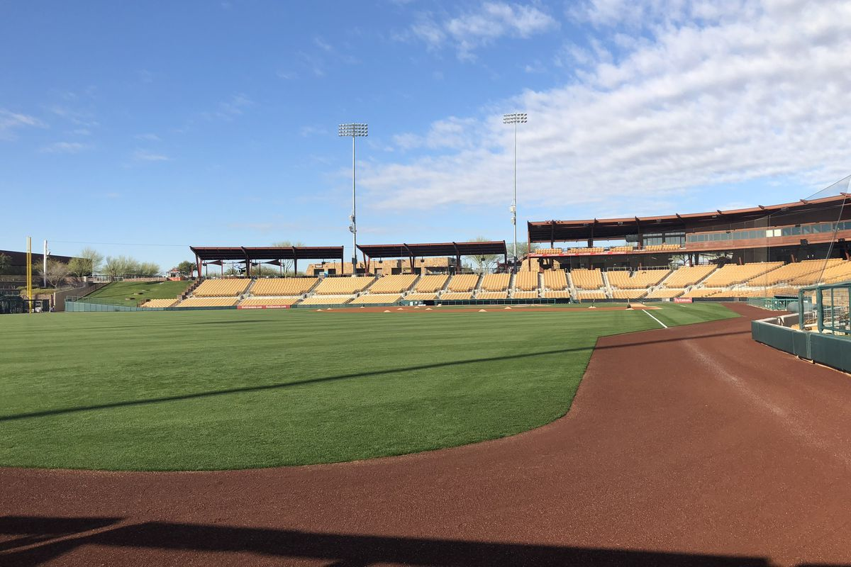 e7ddf4d3168 Baseball is back at Camelback Ranch. Photo credit  Eric Stephen
