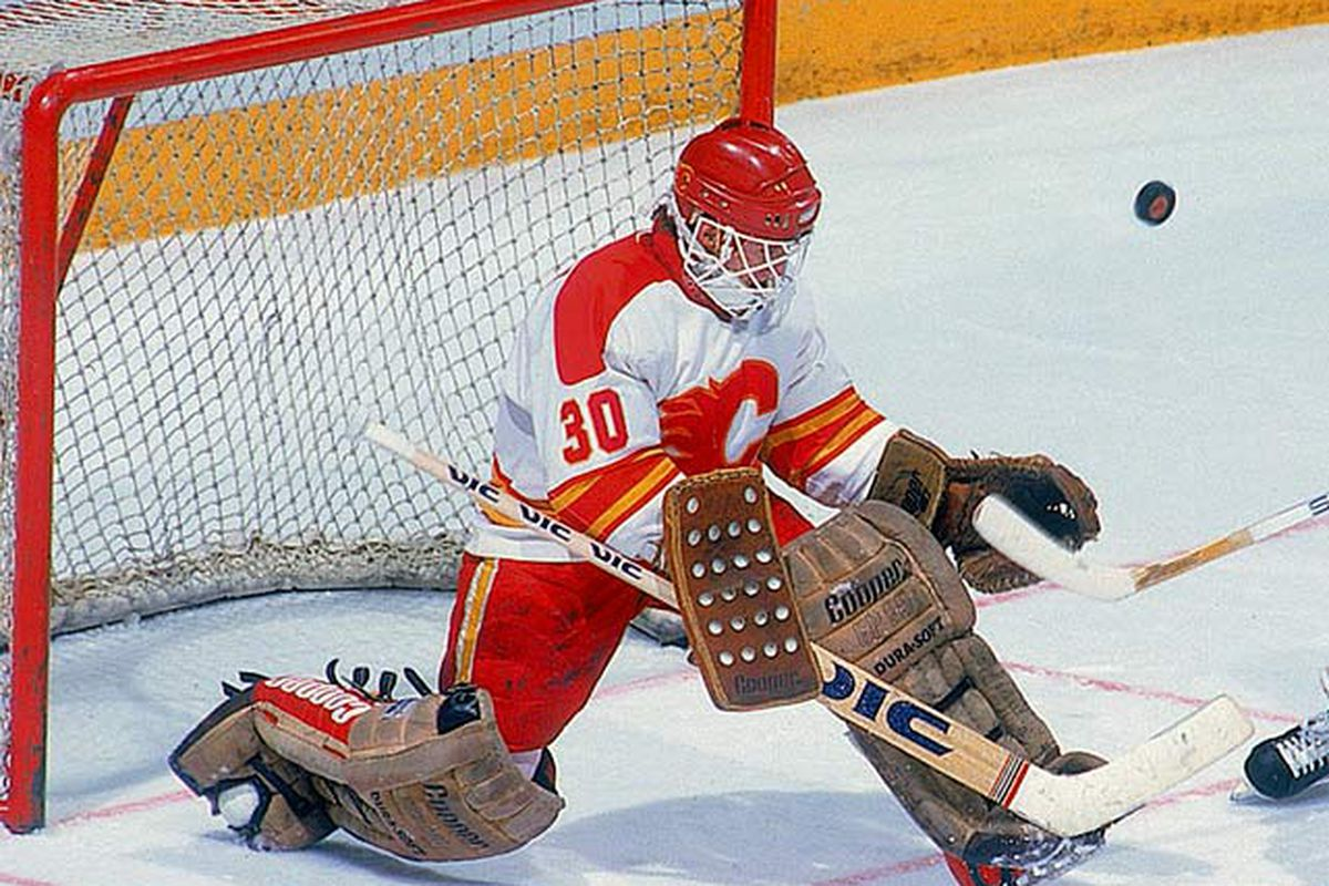41c95294d052 ... Flames All-Time Countdown Chapter CXLI 6. Mike Vernon ... CALGARY ...