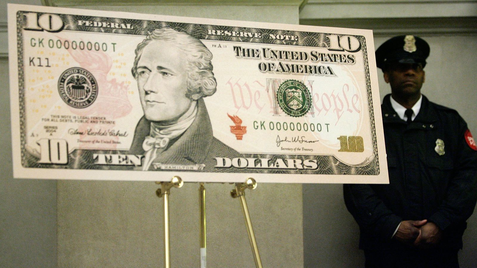 Us Treasury Says A Woman Will Appear On 10 Bills In 2020