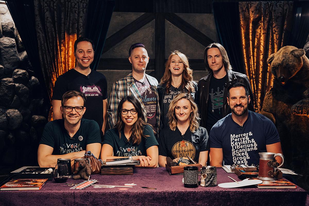Critical Role team photo