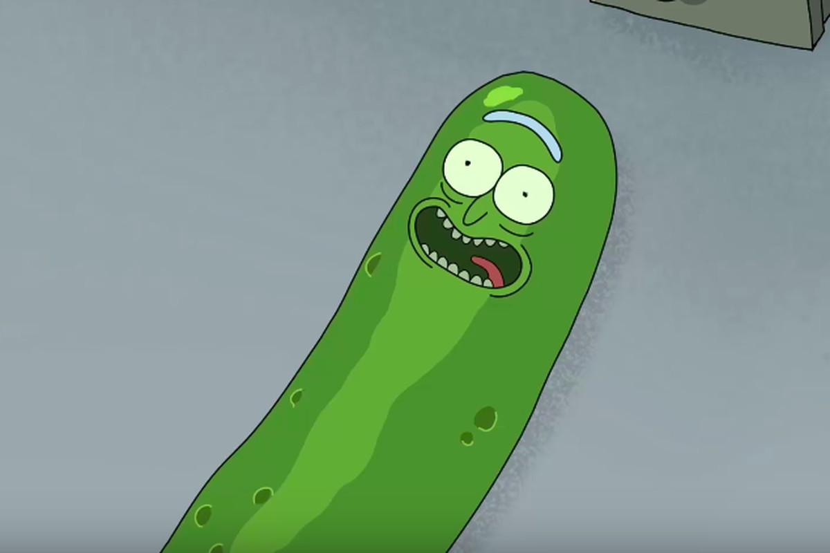 pickle rick is already everyone's favorite character from rick and