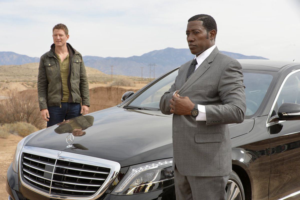 Philip Winchester and Wesley Snipes on NBC's new action drama The Player.