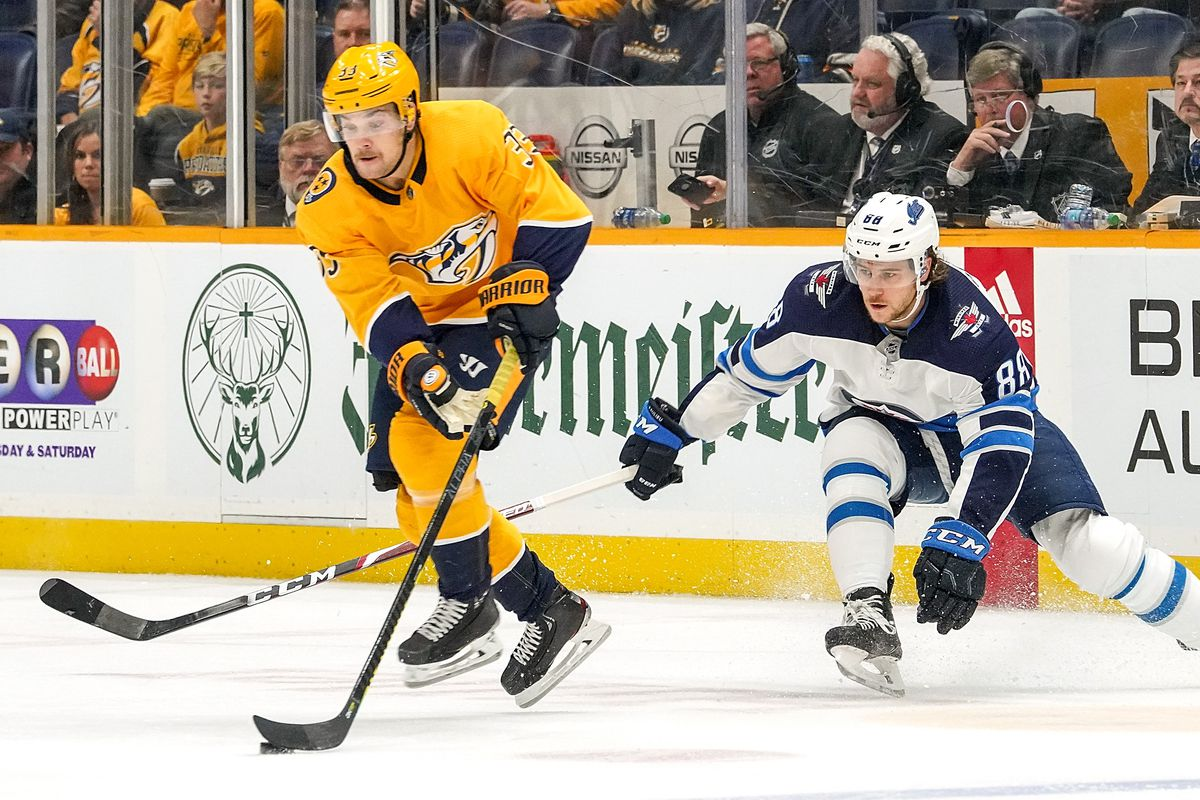 Nashville Predators 1, Winnipeg Jets 2 Game Recap: Lifeless Preds Lose Fifth Straight Game