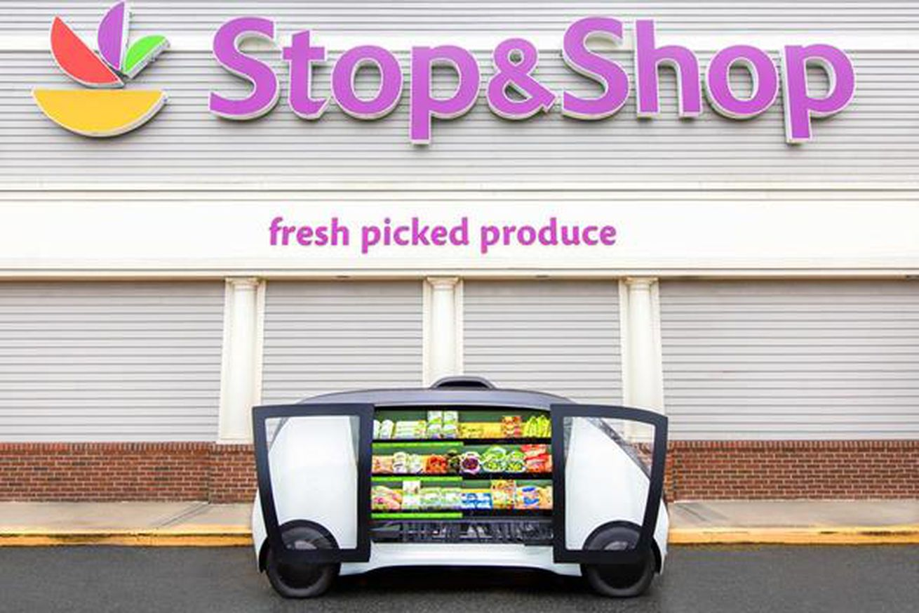 stop shop is testing self driving mini grocery stores