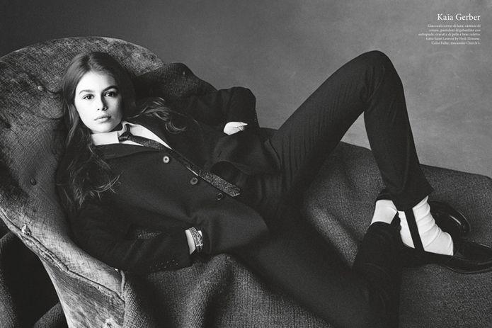 Kaia Gerber Vogue Italia