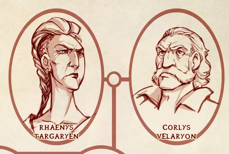 This Targaryen family tree helps explain Game of Thrones' confusing
