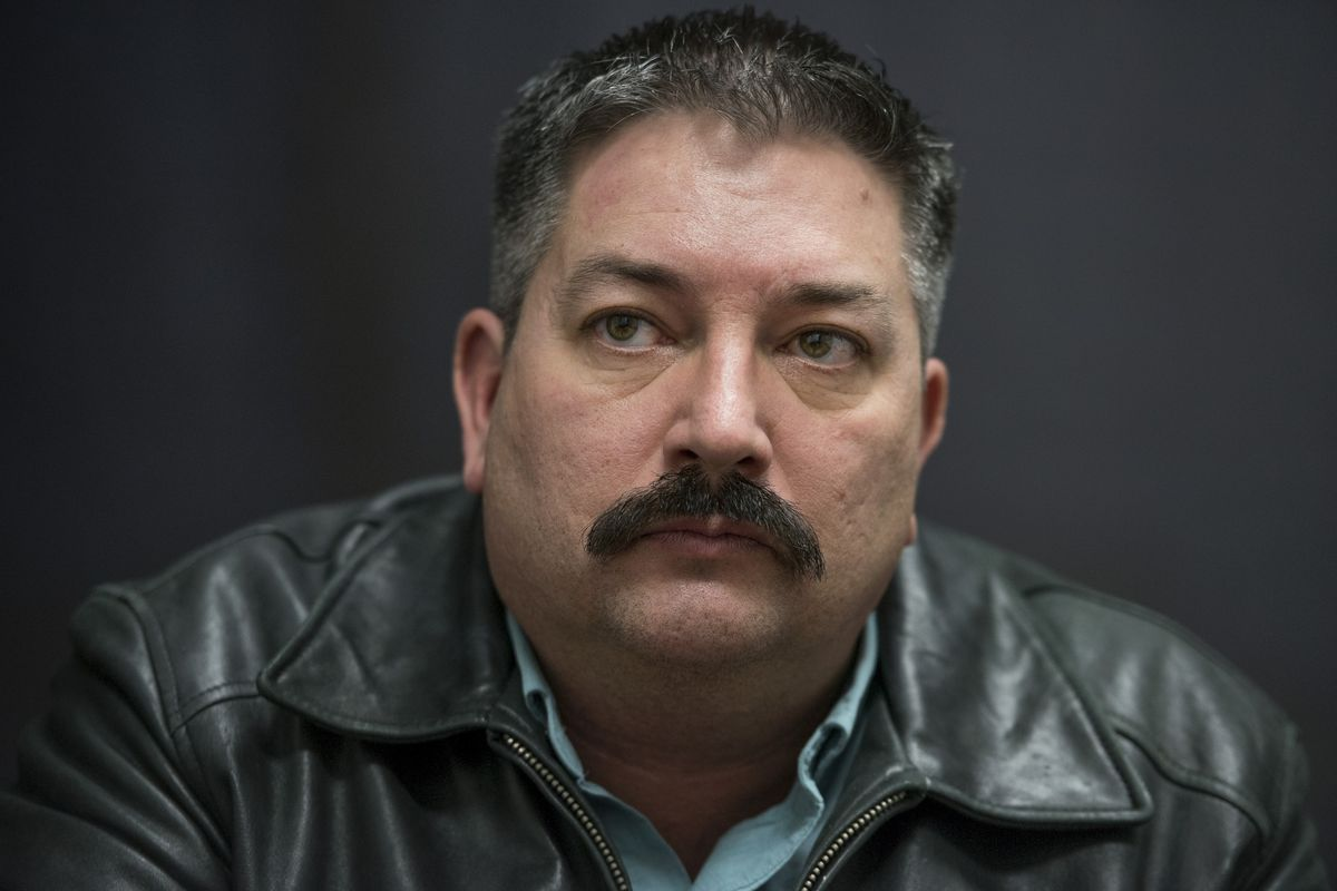 Randy Bryce, the Democratic candidate for Wisconsin's first congressional  district. Tom Williams/CQ Roll Call