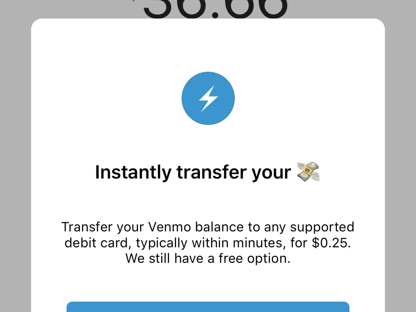 Venmo can now instantly transfer money to your debit card for 25