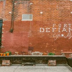 """<b>↑</b>The pull of <b><a href="""" http://www.fortdefiancebrooklyn.com/ """">Fort Defiance</a></b> (365 Van Brunt Street) has been making Red Hook a destination since 2009. Its cocktails have been praised by both your best friend and The New York Times, and it"""