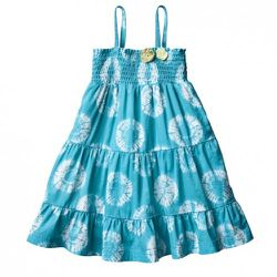 Infant Medallion Dress in Turquoise $14.99. Also available in toddler sizing