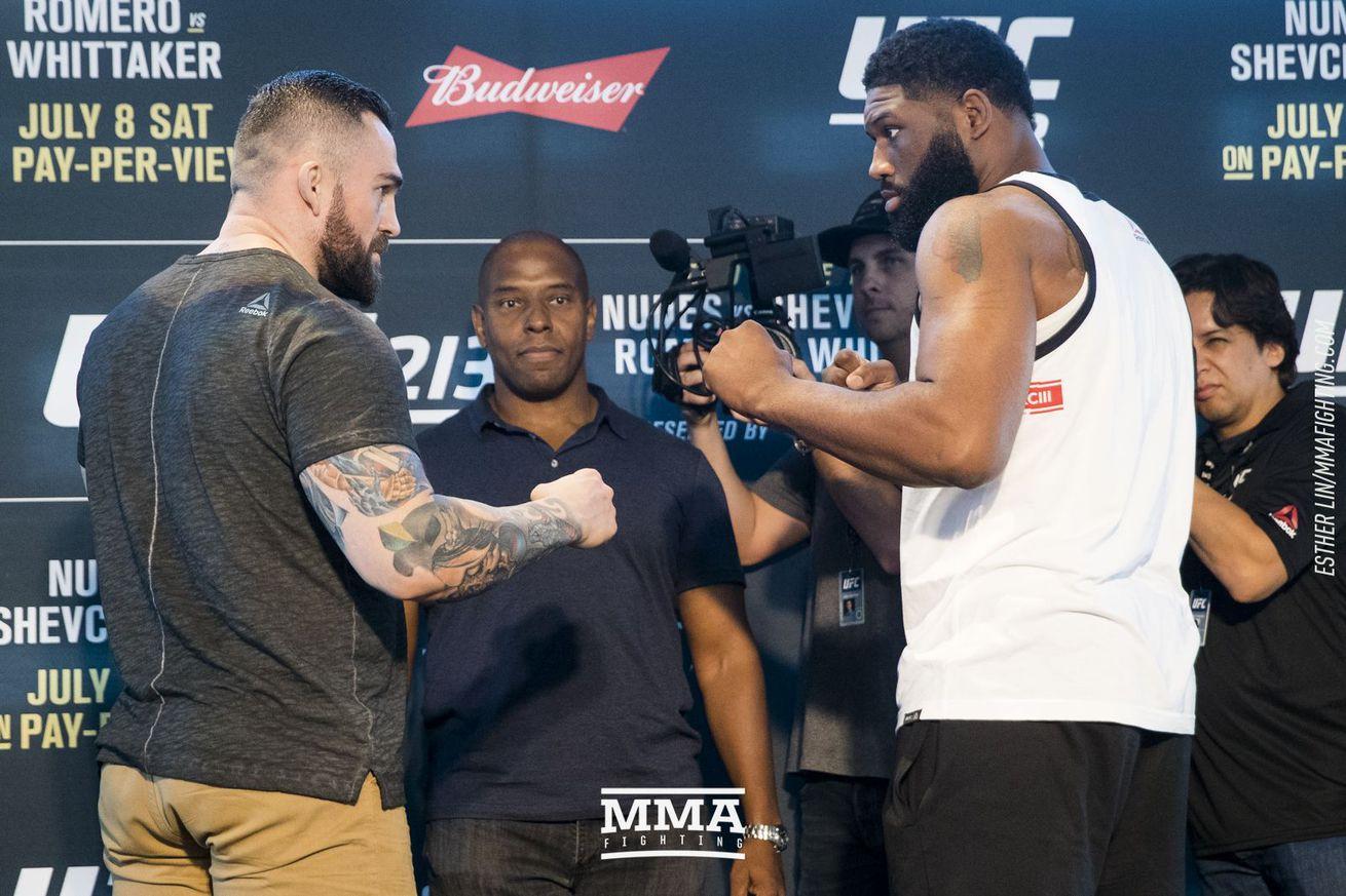 UFC 213 live blog: Daniel Omielanczuk vs. Curtis Blaydes