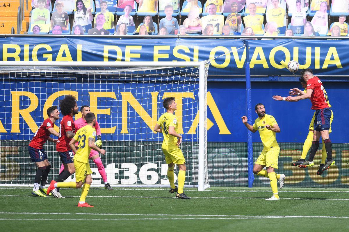 Villarreal CF v C.A. Osasuna - La Liga Santander