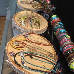 Large bangles $30, small $20