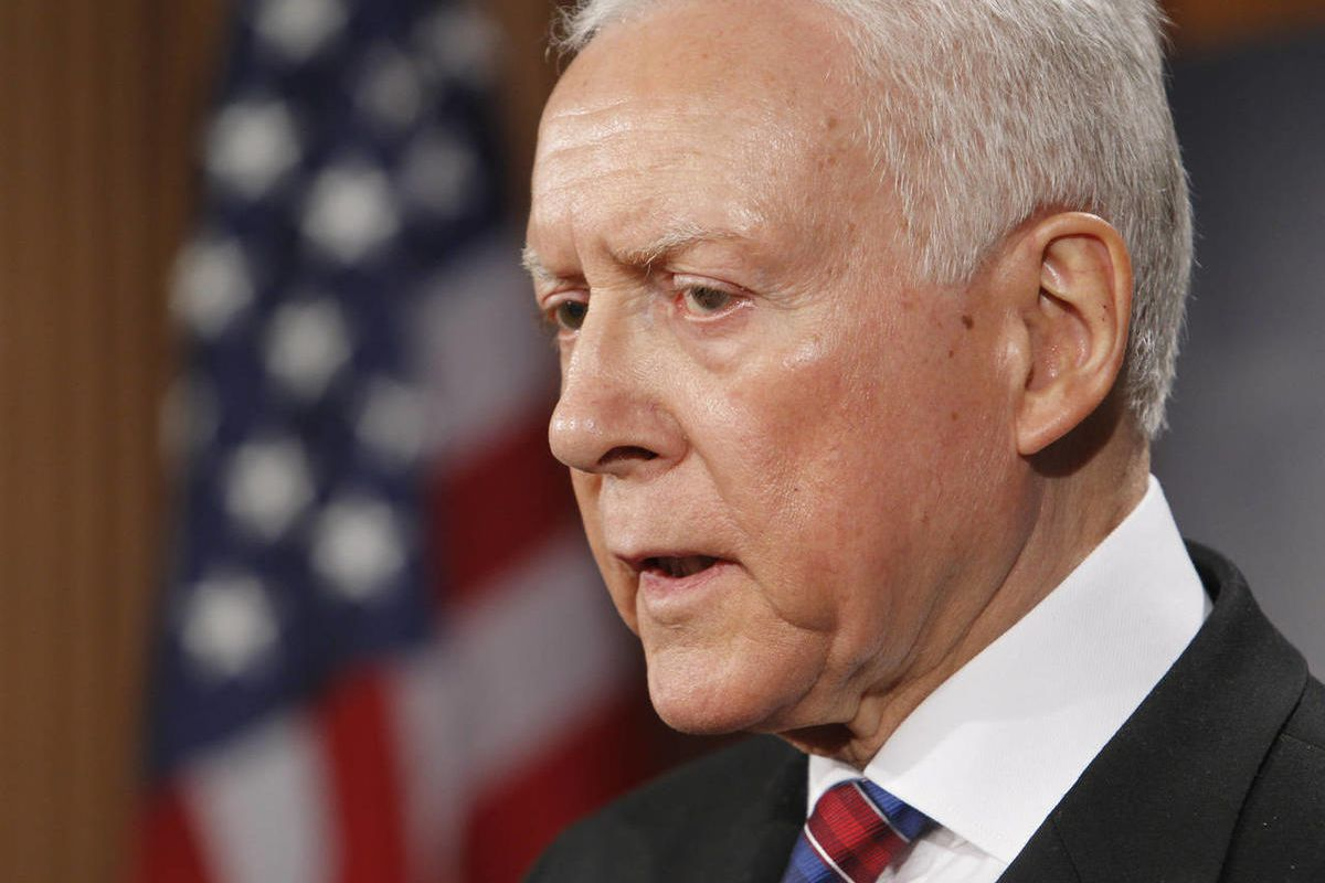 Sen. Orrin Hatch, R-Utah, called for an end to the death tax from the Senate floor Thursday, July 12, 2012.
