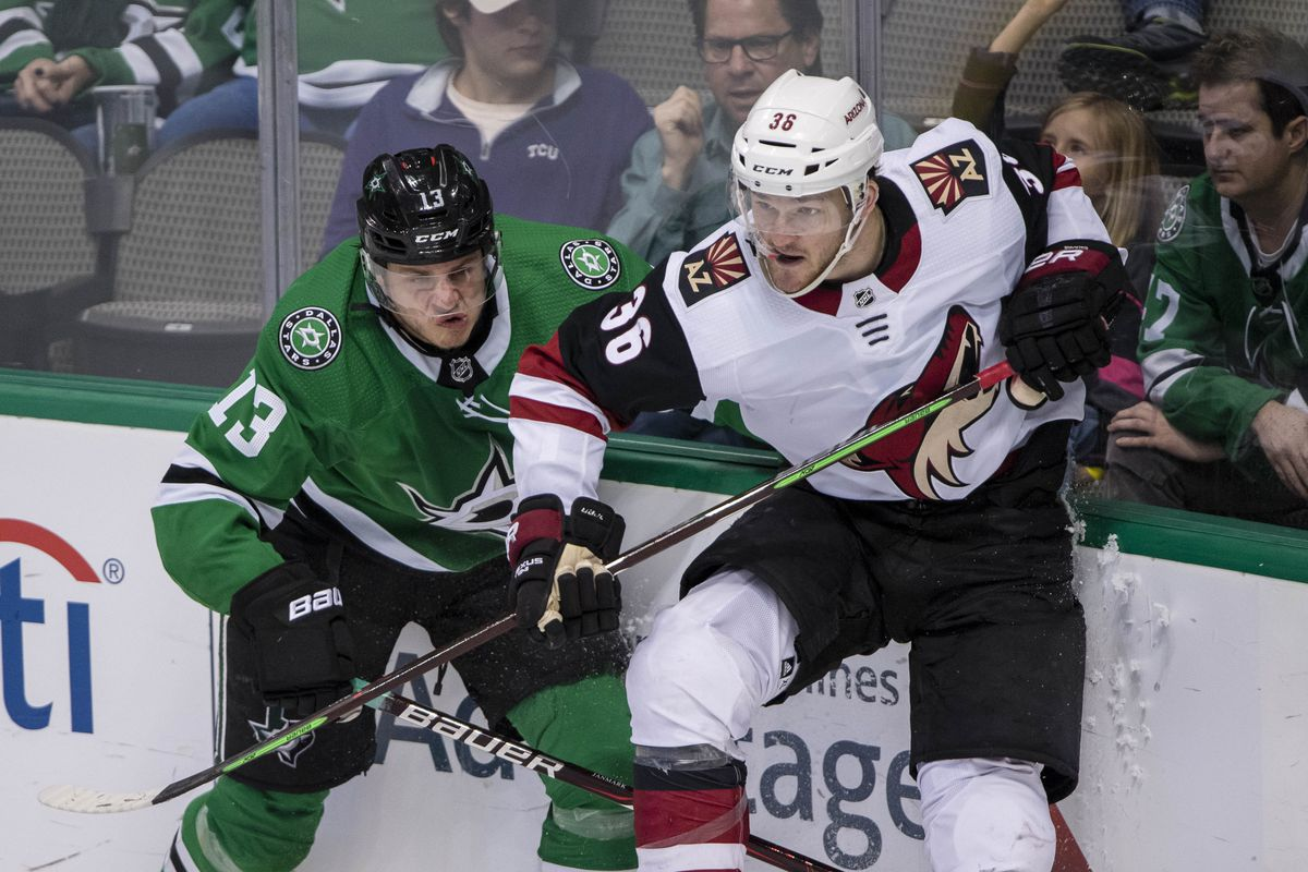 ddba3aea19d Dallas Stars Daily Links: Stars Go For Stability As They Meet The Coyotes  In Arizona