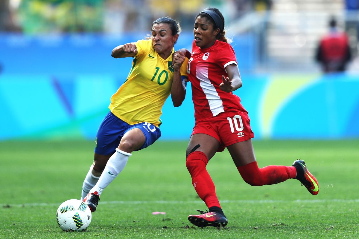 Brazil v Sweden Bronze Medal Match: Women's Football - Olympics: Day 14