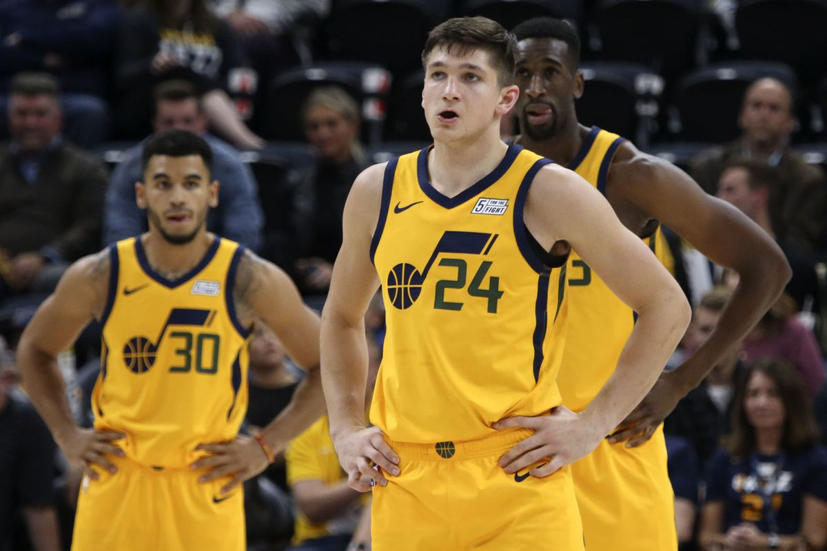 new concept 7df7a 0c221 Utah Jazz rookie Grayson Allen unfazed by NBA fans booing ...