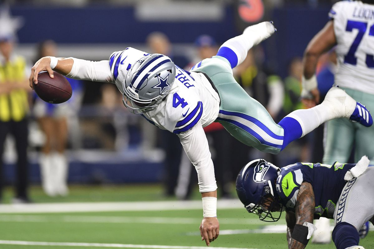 NFL: NFC Wild Card-Seattle Seahawks at Dallas Cowboys