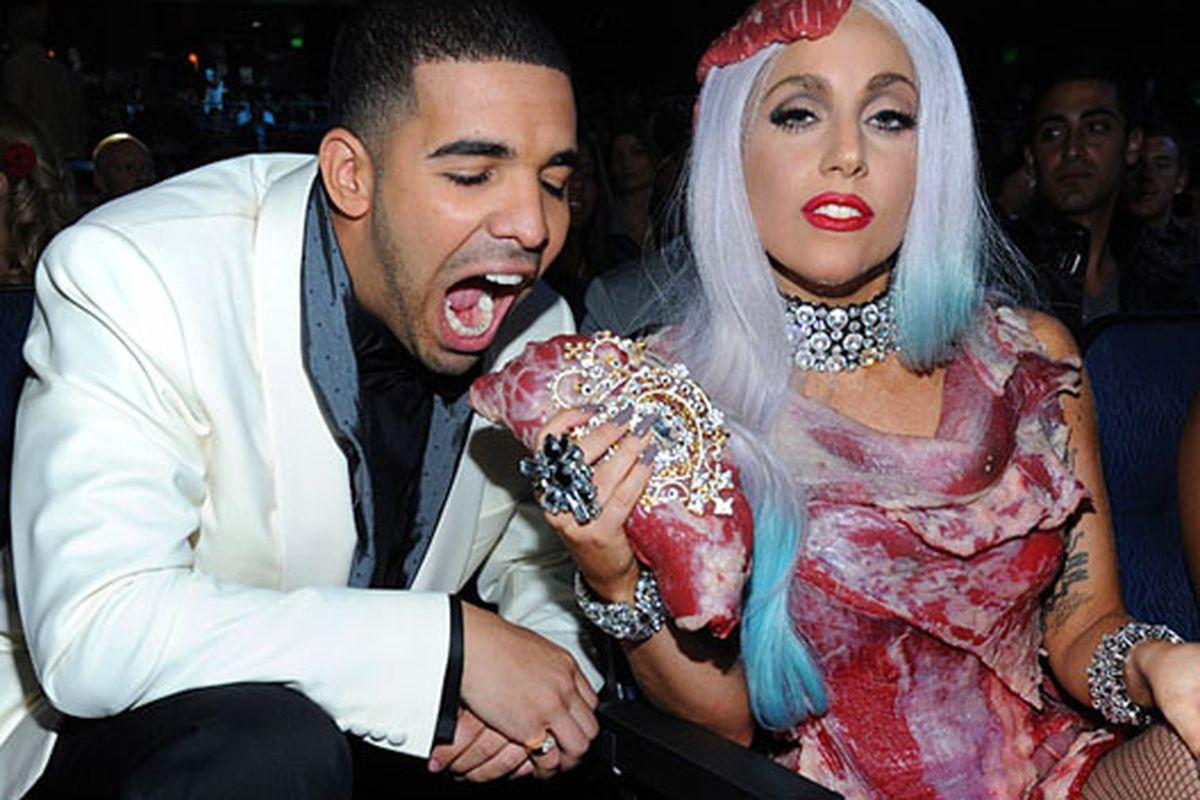 "Who wants to smell like Lady Gaga? Image via <a href=""http://www.mtv.com/photos/vma-2010-lady-gaga-lookbook-mtv-style/1647403/5199096/photo.jhtmlp"">MTV</a>"