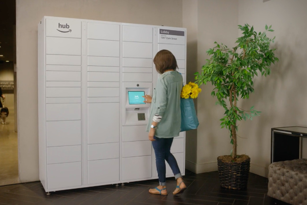 Amazon Launches The Hub Locker Delivery System For