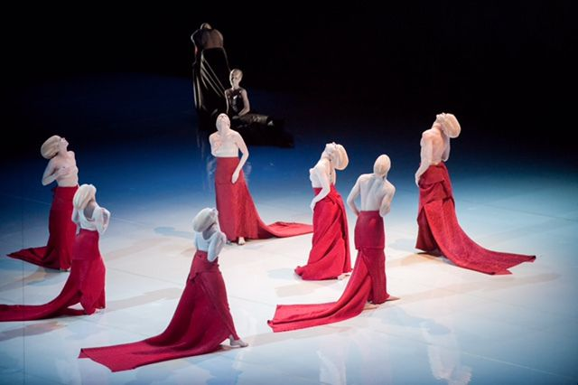 The Shen Wei Dance Arts company will make its Chicago debut at the Auditorium Theatre. | STEPHANIE BERGER