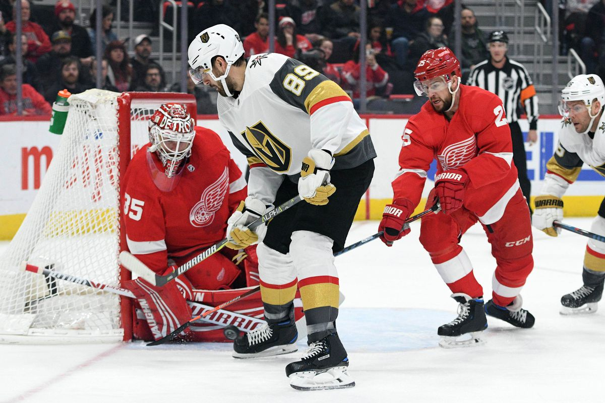 Gameday Golden Knights Host Red Wings On Heels Of A Hot Streak