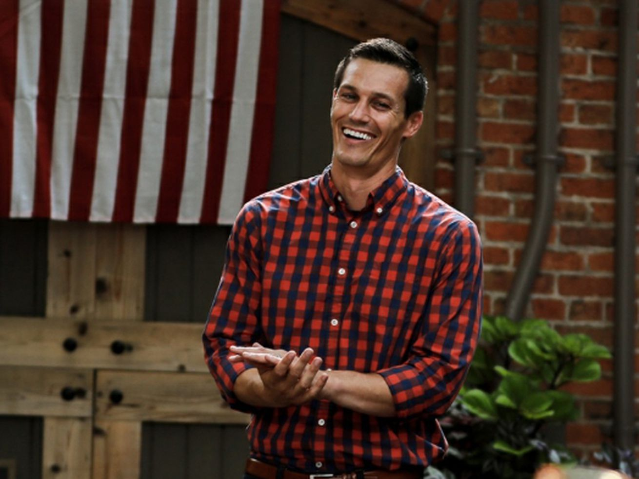 Republican candidate for governor Jesse Sullivan
