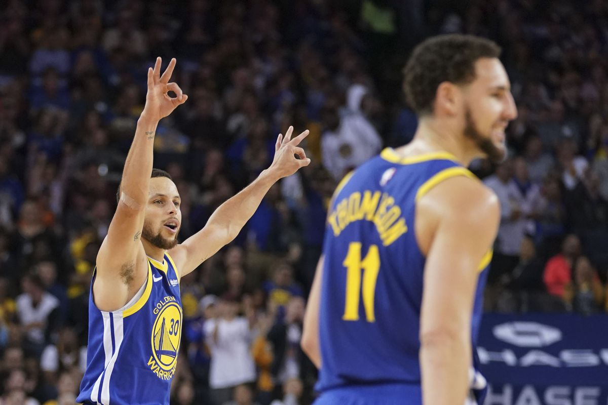 Warriors game analysis: Klay Thompson decoys unlock Stephen Curry