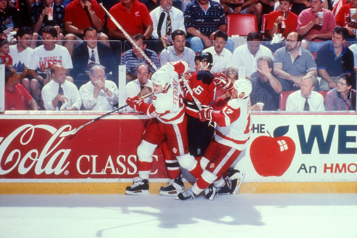 1995 Stanley Cup Finals: New Jersey Devils v Detroit Red Wings