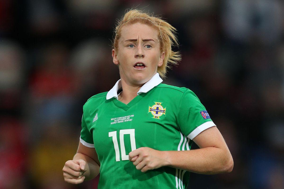 Wales Women v Northern Ireland Women - UEFA Women's Euro 2021 Qualifying - Group C - Rodney Parade