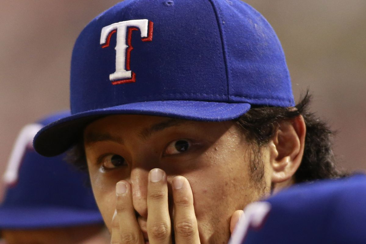 I can't blame Yu for not wanting to look. It wasn't pretty last year in Arlington.