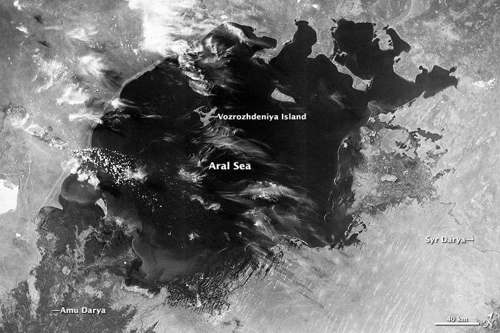 Aral Sea 1964