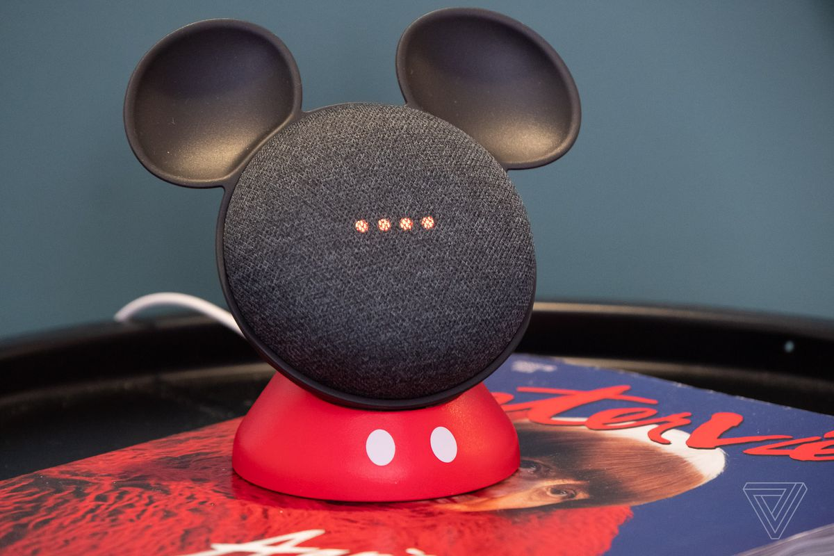 reputable site 78a8d de1a8 This cute stand makes Google's Home Mini look like Mickey Mouse ...