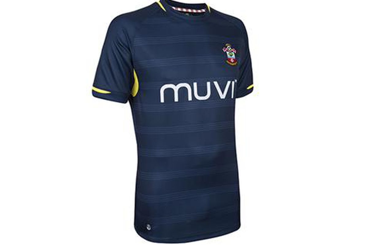 00600ec67 Southampton unveil unbranded 2014 15 away kit - SBNation.com