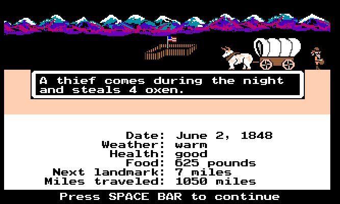 rockets oxen thief