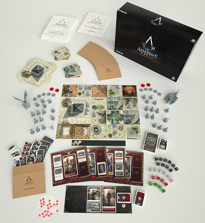 Assassin's Creed: Brotherhood of Venice board game