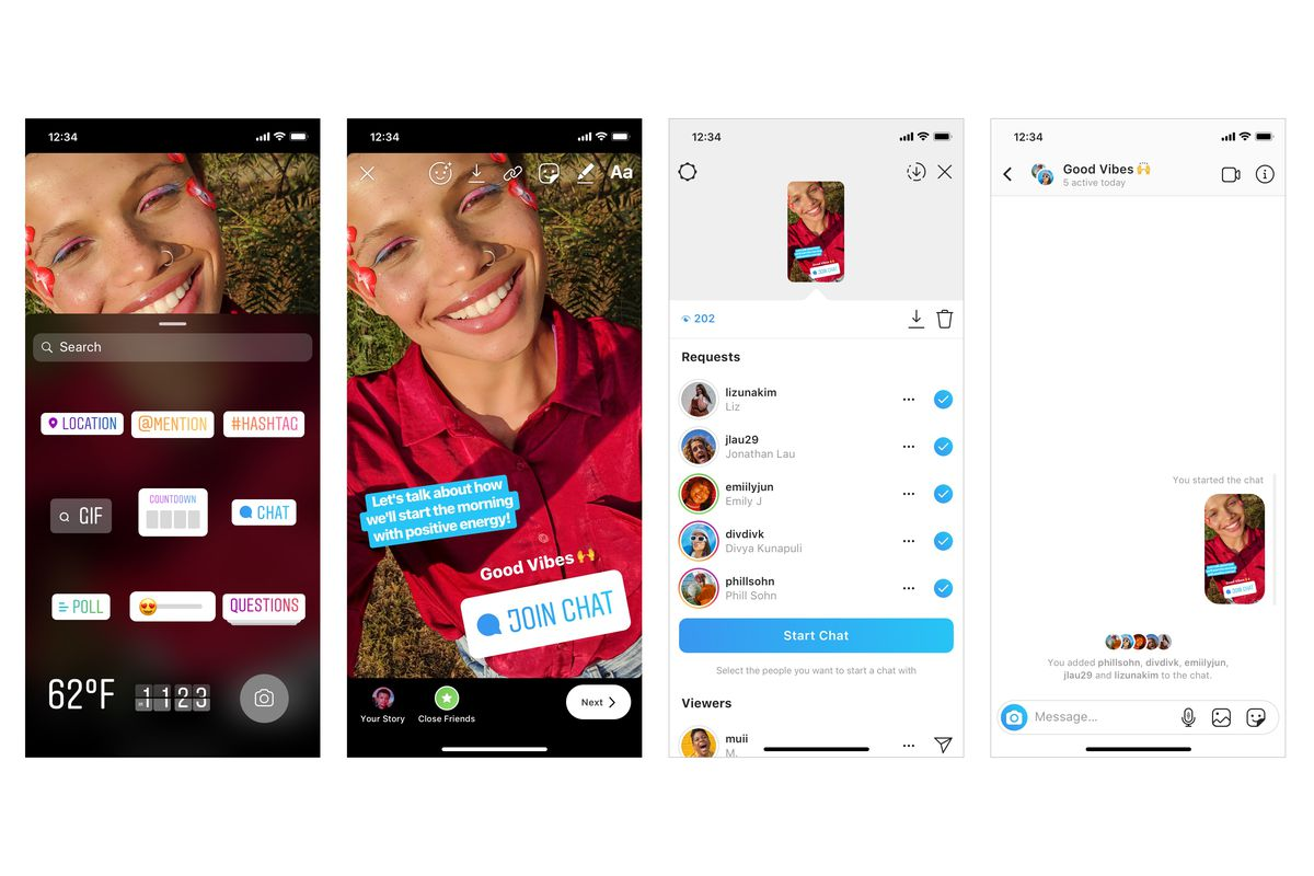 Instagram Adds A New Sticker For Group Chats Wwwguzzlecoza