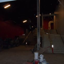 This is the entrance to what will be the 49ers Hall of Fame. It will be a multi-level set-up