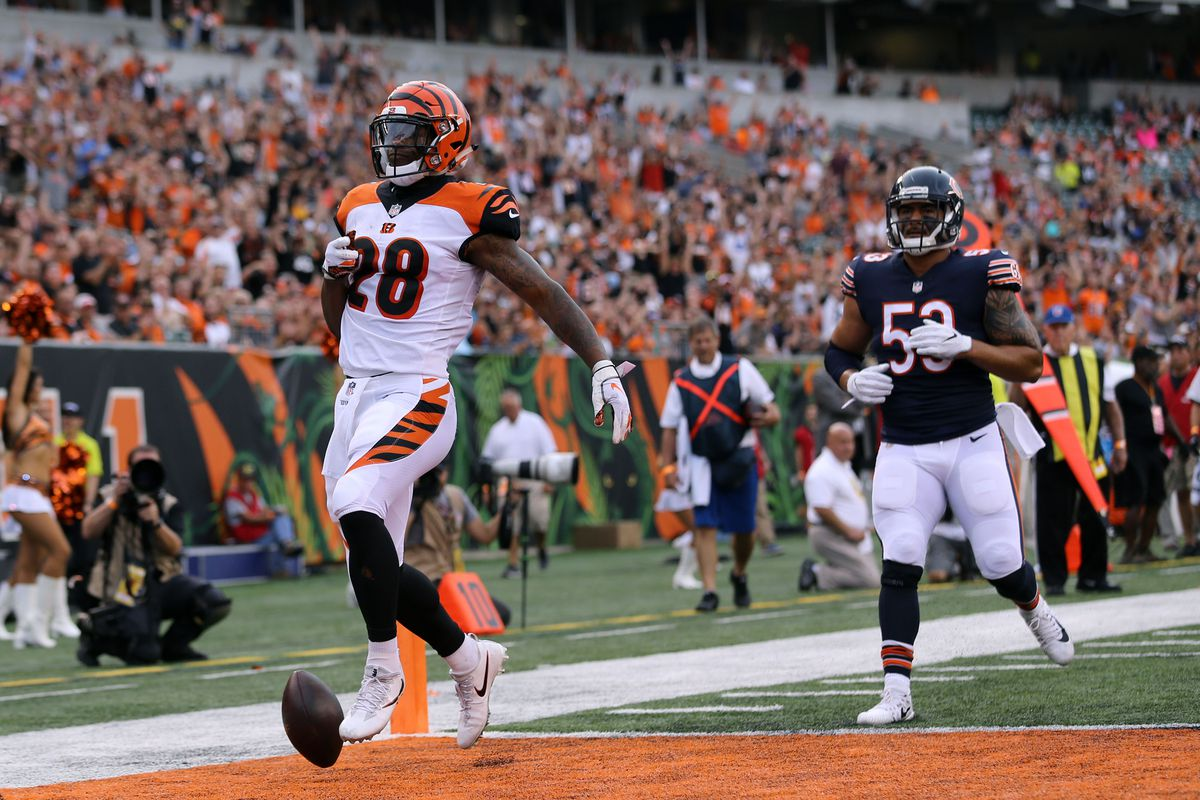 1cd2014c NFL Preseason Week 1: Bengals come out strong, rally past Bears 30 ...