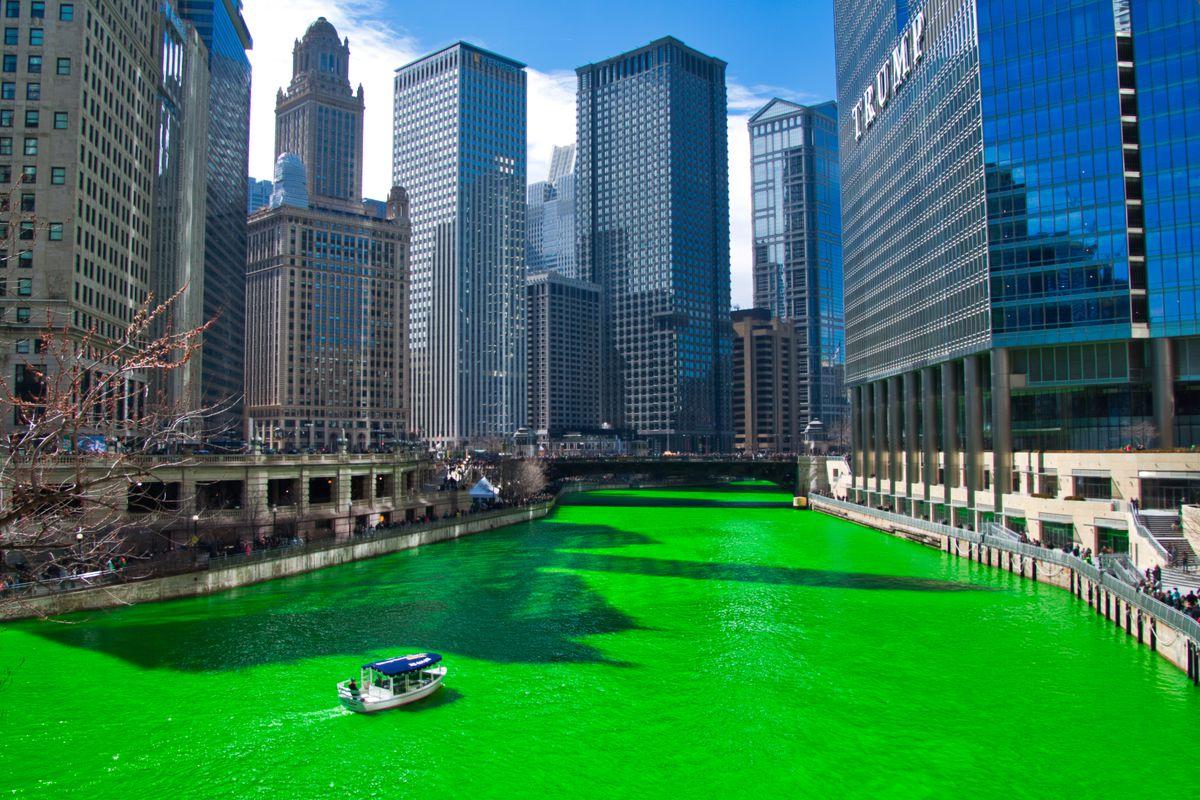 Chicago River GrГјn