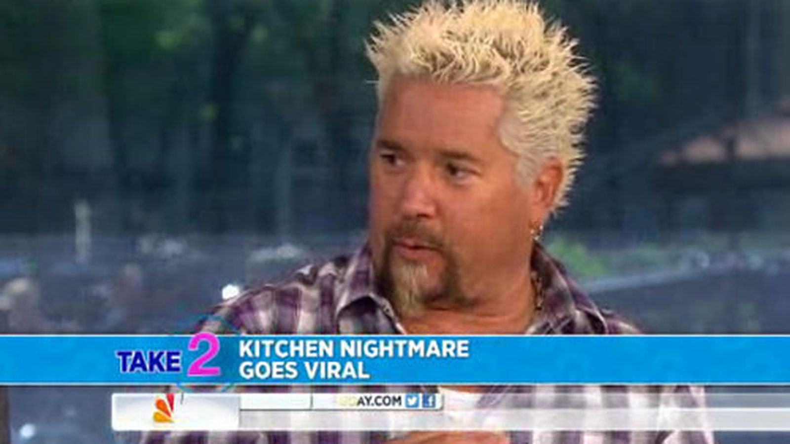 guy fieri boldly chimes in on the crazy kitchen nightmares