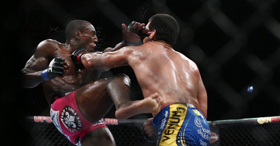 Retro Robbery Review: Phil Davis vs. Lyoto Machida at UFC 163