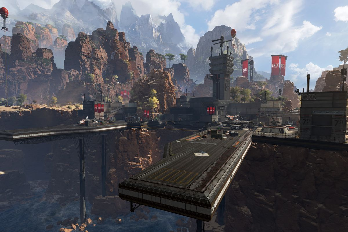 """A look at the """"Apex: Legends"""" locations."""