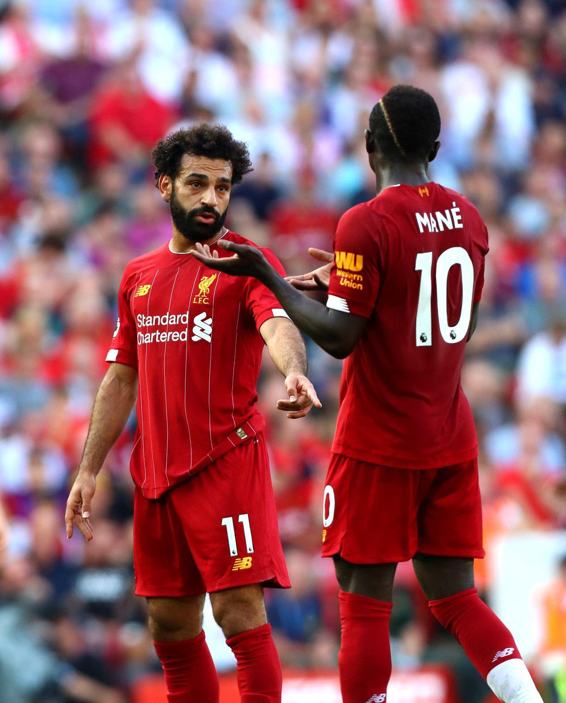 Mohamed Salah and Sadio Mane - Liverpool FC - Premier League