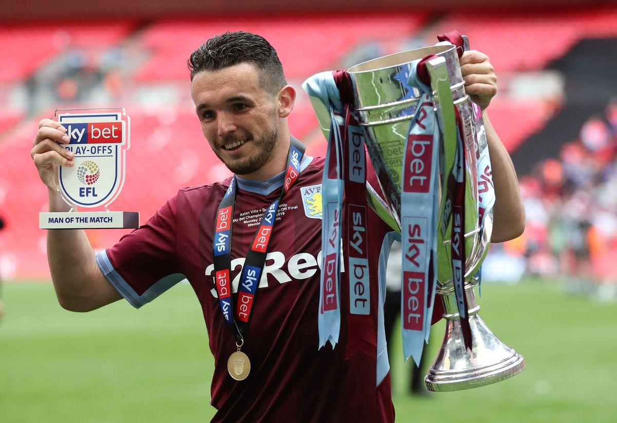 John McGinn - Aston Villa - EFL Championship Play-off Final